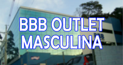 BBB Outlet masculina